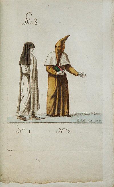 Mascarades Monastiques et Religieuses...
