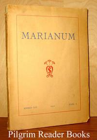 Marianum, Annus XIV, Fasc. I