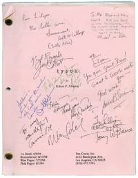 image of Tyson (Original screenplay for the 1995 HBO movie, copy belonging to actress Lilyan Chauvin, round robin copy signed by nine members of the cast and crew)