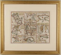1747 Emanuel Bowen Map of North American Harbors