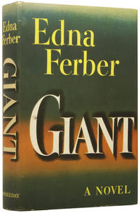 Giant by  Edna (1885-1968) FERBER - First Edition - from Adrian Harrington Rare Books and Biblio.com