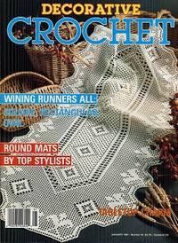 Decorative Crochet January 1991 No 19