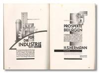 AUSSTELLUNGEN KÖLN 1929. DEUTSCHER WERKBUND - ARBEITSGEMEINSCHAFT KÖLN-RHEINLANDE: WACHSENDE WOHNUNG UND EINZELGERÄT. KÖLNER WERKSCHULEN ... AMTLICHER KATALOG MIT EINEM PLANE DER AUSSTELLUNG UND 63 ABBILDUNGEN
