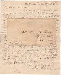 SLAVE-CARRIED MAIL BETWEEN PROMINENT VIRGINIANS