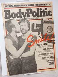 image of The Body Politic: a magazine for gay liberation; #69, December, 1980/January, 1981; Smile! You're on TV!
