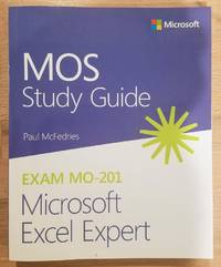 image of MOS Study Guide for Microsoft Excel Expert Exam MO-201