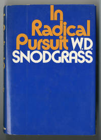 IN RADICAL PURSUIT  CRITICAL ESSAYS AND LECTURES