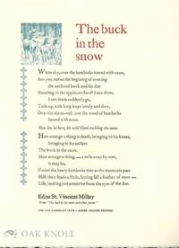 BUCK IN THE SNOW AND OTHER POEMS.|THE