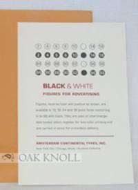 BLACK & WHITE FIGURES FOR ADVERTISING