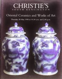 image of Christie's Oriental Ceramics and Works of Art (28 May 1998)