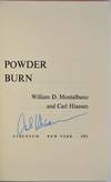 View Image 2 of 2 for POWDER BURN. Signed by Carl Hiaasen. Inventory #007579