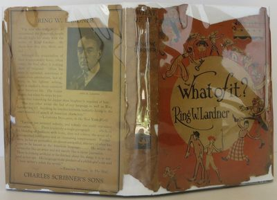 Scribner's, 1925. 1st Edition. Hardcover. Very Good/Good. A very good first edition, first issue (wi...