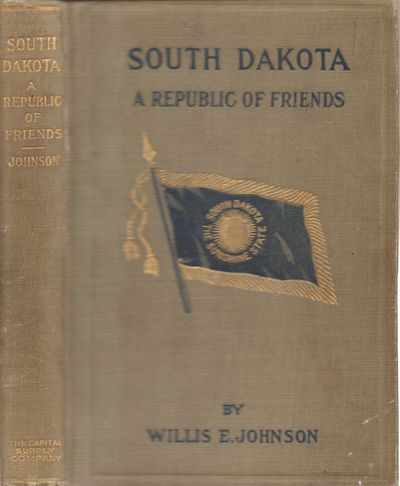 Pierre, South Dakota: Capital Supply Company. Good. 1912. Later Printing. Hardcover. Tan cloth with ...