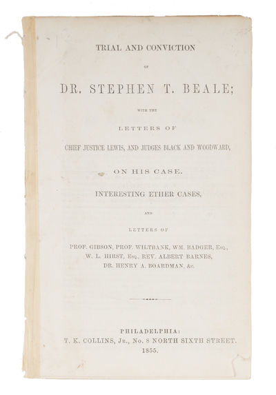 Trial and Conviction of Dr Stephen T...