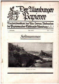 Heftnummer, Mai 1933, No 2, 7. Jahrgang