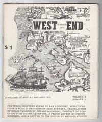 West End, Volume 2, Number 1 (Summer 1973)