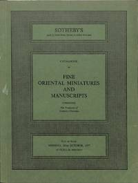 Sale 10 October 1977: Fine Oriental Miniatures and Manuscripts.