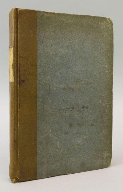 London: John Murray, 1817. FIRST EDITION. 229 x 152 mm. (9 x 6