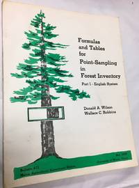 Formulas and tables for point-sampling in forestry inventory (Maine. Agricultural Experiment...