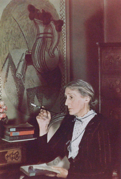 London: np, 1939. First edition. Framed. Fine. THE MOST CELEBRATED PHOTOGRAPH FROM VIRGINIA WOOLF'S ...