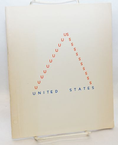 San Francisco: Buffalo Books, 1976. , wraps, faint stain at left edge of front cover. Contributors i...