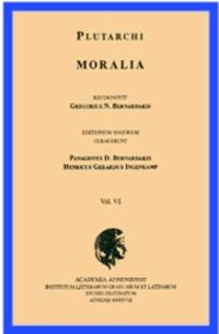 image of  Plutarchi Chaeronensis Moralia, VOL. VI