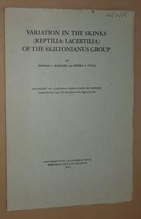 Variation in the Skinks (Reptilia: Lacertilia) of the Skiltonianus Group (University of...