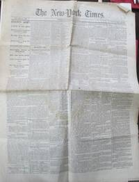 The New York Times. Friday, June 3, 1864. With Civil War Content