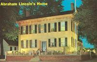 Abraham Lincoln's Home, Springfield Illinois 1968 used Postcard