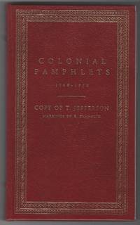 COLONIAL PAMPHLETS, 1769-1770 Reflections Moral and Political on Great Britain and Her Colonies...