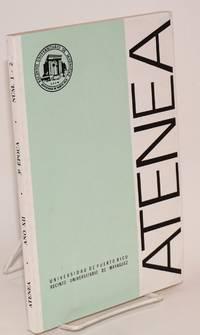Atenea; Ano XII, 3a Epoca, Numeros 1 y 2. Enero-Diciembre 1992