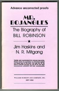 Mr. Bojangles - The Biography of Bill Robinson [COLLECTIBLE ADVANCE UNCORRECTED PROOFS]