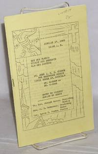 image of Order of service, January 17, 1965