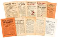 image of [Newspaper]: Four-Star Sports Coast-to-Coast. Vol. 1, No. 1 - Vol. 3, No. 11 (lacking No. 10)