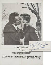image of The Brotherhood (Original poster for the 1968 film signed by Kirk Douglas)