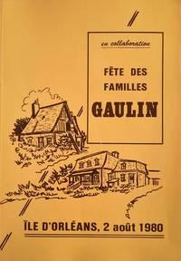 image of Fête des familles Gaulin. Île d'Orléans, 2 août 1980