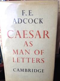 Caesar as a Man of Letters
