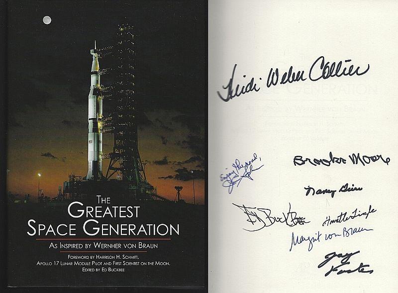 GREATEST SPACE GENERATION AS INSPIRED BY WERNHER VON BRAUN, Buckbee, Ed editor