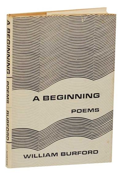 New York: W.W. Norton & Company, 1966. First edition. Hardcover. First printing. 63 pages. A collect...