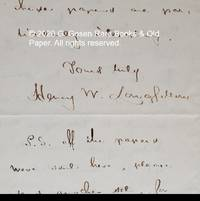 image of Autograph Letter Signed, July 9, 1855