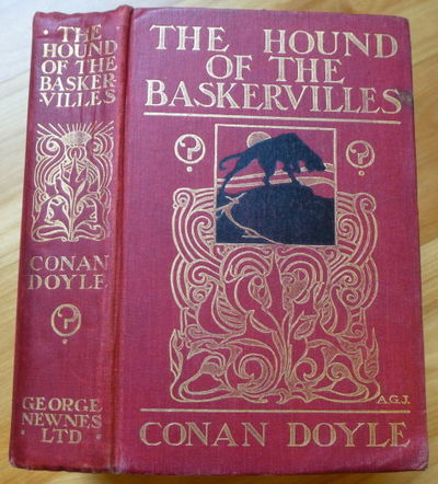 1902. Another Adventure of Sherlock Holmes. London: George Newnes, 1902. Original red cloth decorate...