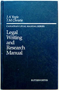 Legal Writing and Research Manual