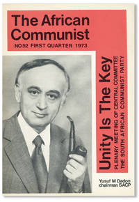image of The African Communist (Quarterly). No. 52 - First Quarter 1973