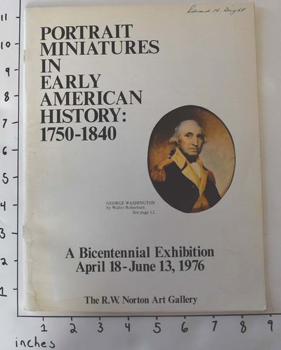 Shreveport, Louisiana: The R.W. Norton Gallery, 1976. Paperback. VG, clean, tight contents, BUT cove...
