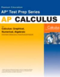 Calculus Advanced Placement Test Prep Workbook 2007c : Calculus