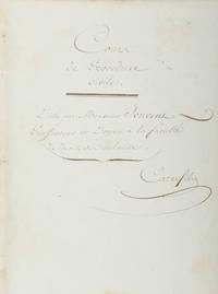 Course de Procedure Civile Dicte par Monsieur Jouvent, Professeur..