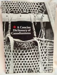 image of A Concise Dictionary of Canadianisms
