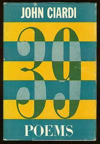 New Brunswick: Rutgers, 1959. Hardcover. Fine/Very Good. First edition. Some foxing to endpapers, ab...