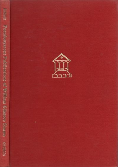 Athens: University of Georgia Press, 1976. First Edition. Hardcover. Very Good. Octavo. Red cloth ha...