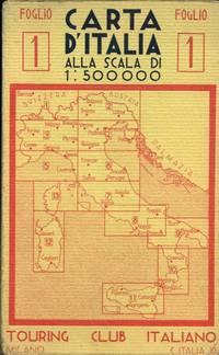 Carta d\'Italia alla scala di 1 : 500.000. Foglio 1, 2, 4.